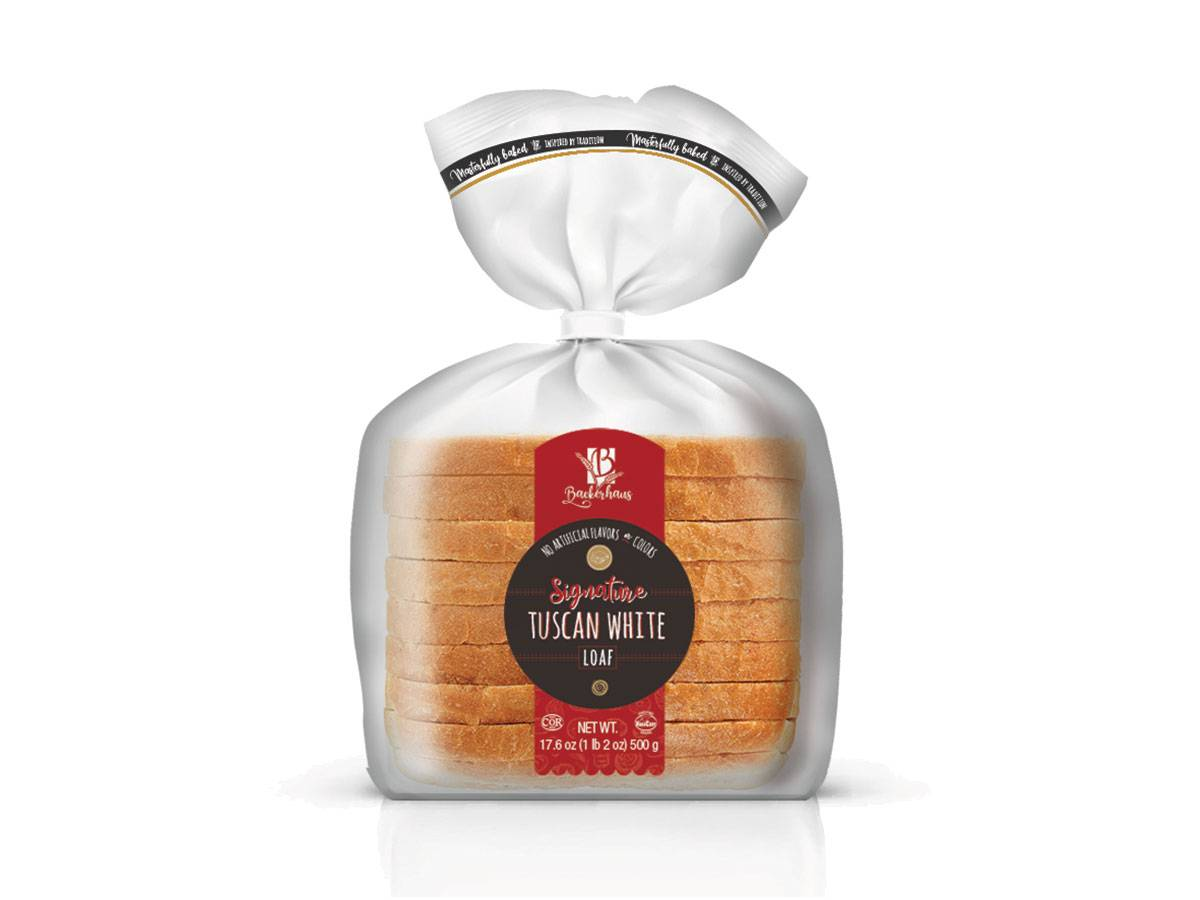 Tuscan White, Sliced Sandwich Bread