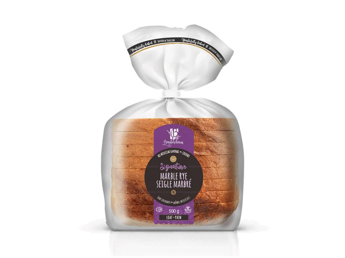Marble Rye, Sliced Sandwich Bread